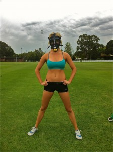 Emma in Elevation Gas Mask