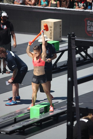Julie Foucher 2012 Reebok CrossFit GamesJulie Foucher 2012 Reebok CrossFit Games