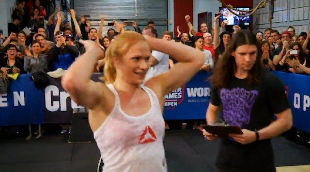 Thorisdottir wins Reebok CrossFit Open 13.2