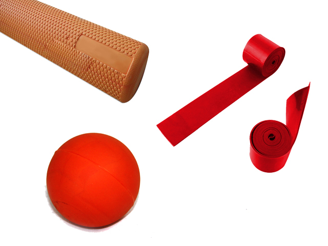 Urban Fitness Supplies Third Prize: Foam roller, Trigger Ball and Compression Band