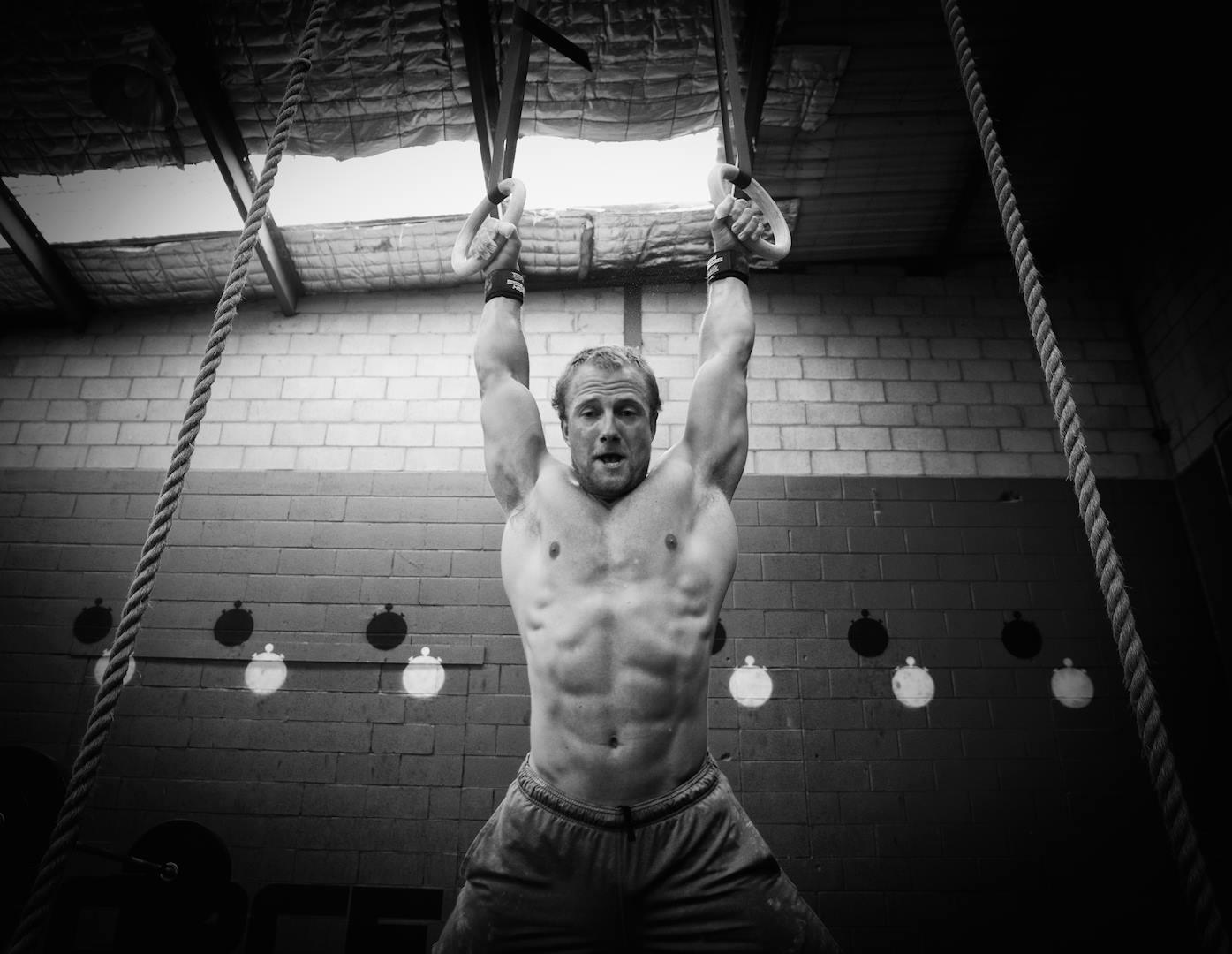 Crossfit Muscle Ups Rings